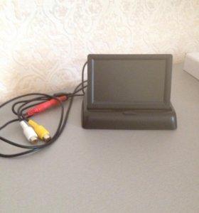 Складной монитор для камеры заднего вида + камера