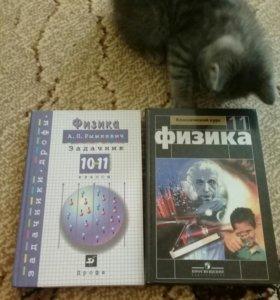 Учебники: русский язык, алгебра, физика, англ. яз.