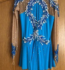 Платье для выступления по фигурному катанию.