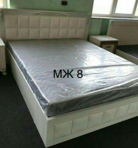 Кровать с матрасом МЖ8