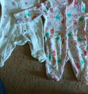 Одежда на новорожденную девочку