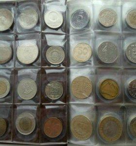 Альбом иностранных монет.