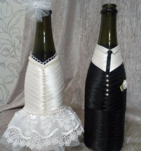 Украшение на бутылки