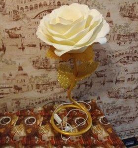 Ростовая роза,торшер,светильник,ночник