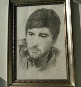 Портрет Александра Васильева (солист группы Сплин)