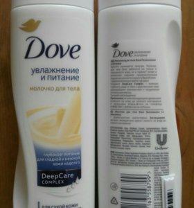 Новое молочко для тела Dove