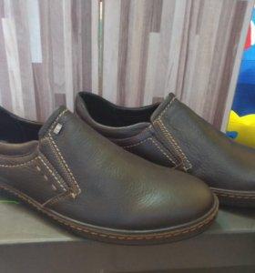 Туфли мужские, натуральная кожа Milana