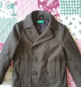 Пальто Benetton для мальчика 5-6 лет