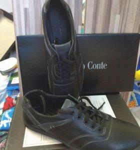 Туфли мужские, новые натуральная кожа