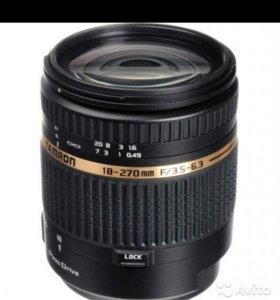 Tamron AF 18-270 f/3.5-6.3 Di II VC PZD Nikon F