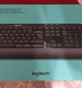 Клавиатура и мышь Logitech MK520 Advanced