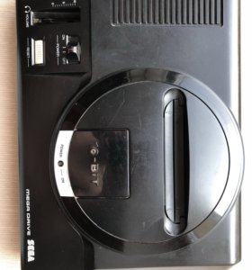 Приставка Sega Mega Drive (оригинал)