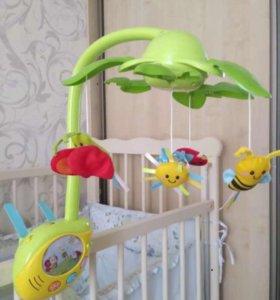 Мобиль на детскую кроватку WINFUN