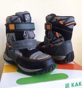 Зимние ботинки термо