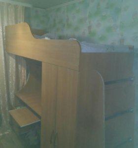 Кровать шкаф рабочий стол