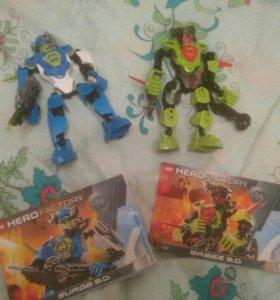 Лего hero factory bionicle