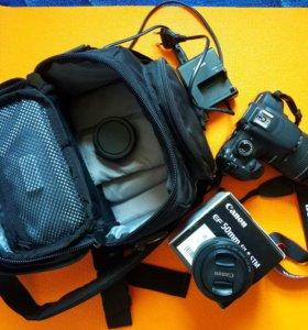 Фотоаппарат Canon 1200d, kit 18-55, плюс fix 50 mm