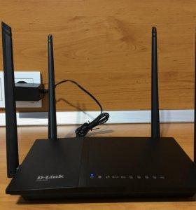 Wi-Fi роутер D-link DIR-825/AC/G1 (wifi ac, 2.4/5)