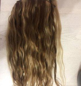 Натуральный волос заколки