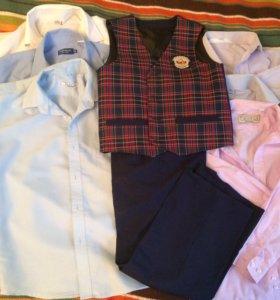 Рубашки в школу