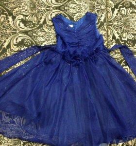 Платье нарядное 6-7л