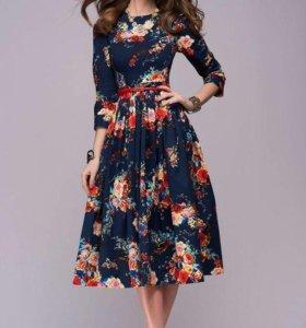 Платье с цветочным принтом 1001 dress