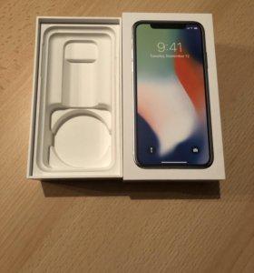 iPhone X коробка оригинал 100%