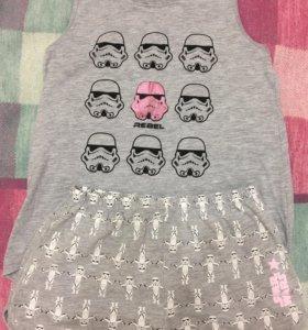 Пижама на девочку 146-152см