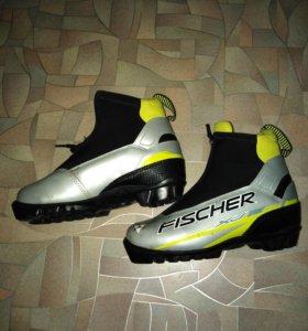 Ботинки для беговых лыж размер 33