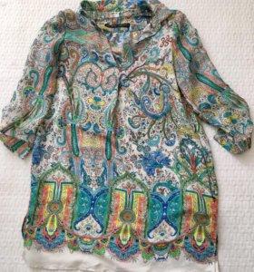 Удлинённая блузка Zara, M