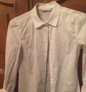 Белая рубашка OODJI🖤
