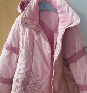 Куртка на 6-7лет