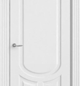 Межкомнатная дверьОфрам Уно-Белая эмаль