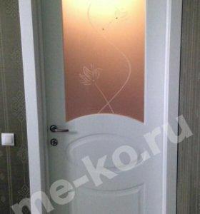 Межкомнатная дверьОфрам Оливия-Белая эмаль