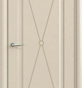Межкомнатная дверьОфрам Прима-Белая эмаль