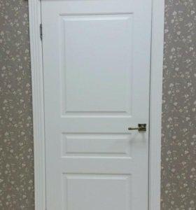 Межкомнатная дверьОфрам Прима 3-Белая