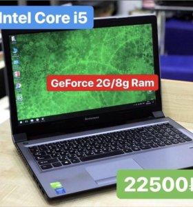 Мощный игровой ноут i5/8 озу/ GeForce GT740 2g
