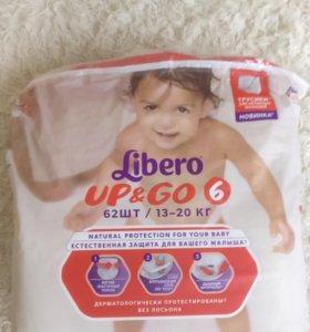 Детские подгузники Libero up & go 6 (13-20кг)