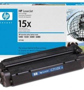 Продам картриджи HP С7115X, С7115A оригинальные