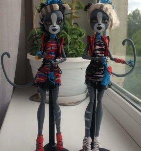 Продам кукол монстер хай Мяулодия и Пурсифона