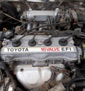 Двигатель Тойота 1.6 16-ти клапанный