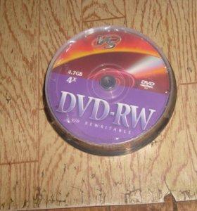 диски dvd rw