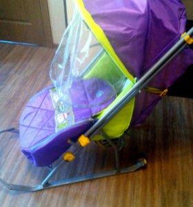 Санки коляска ( Nika kids)