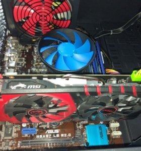 Новый игровой AMD 6х4200, 8Гб, 1Тб, RX-370 на гар.