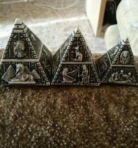 Пирамиды маленькие пирамиды