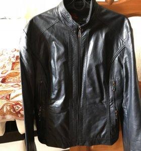 Женская кожзам куртка