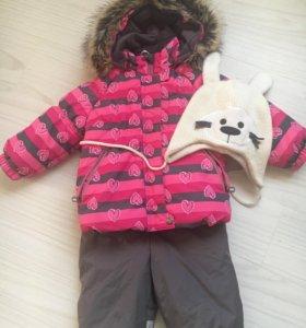 Зимний Комбинезон Kerry , шапочка на флисе Kerry