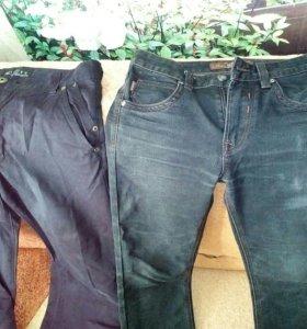 Джинсы и брюки мужские