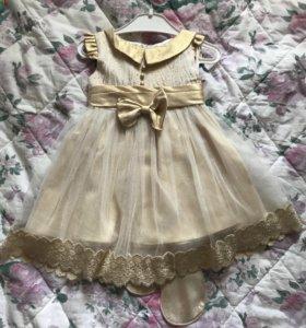 Платье на 1-2