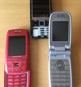 Телефоны на запчасти,500 за все